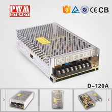Nestest Factory 120W Dual output switching dual voltage 12v 5v power supply
