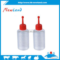 2015 hot sales new type plastic semen bottles plastic semen container for pig equine cattle artificial insemination