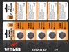 button cell cr2032 3v lithium battery cr2032 coin cell