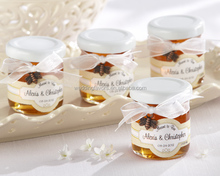 Personalized Clover Honey Jars
