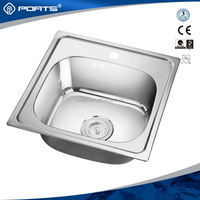 Advanced Germany machines factory supply galvanized wash basin with drainboard