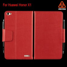 For Huawei Honor X1 Leather case good quality card slots wallet pen PU leather case for huawei