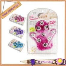 mini colorful rolling ball rotating ball plastic massager