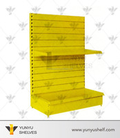 Customized 2 Tier Slot Style Car Accessories Display Stand