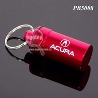 Waterproof Custom Promotional Aluminium Metal Pill Storage Case
