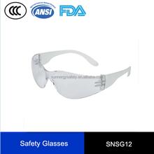 Metal Frame Safety Glasses ANSIZ87 Safety Working Glasses
