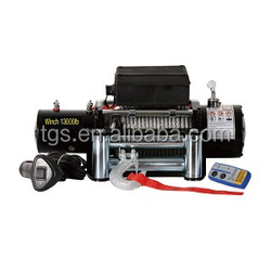 12V 9500 lb wireless 4wd winches for car jeep truck used truck winches for sale