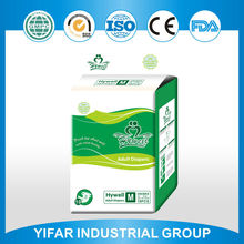 Professional standard top quality excellent China manufacturer own adult diaper brands