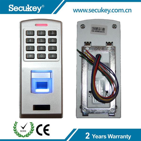 Secukey отпечатков пальцев wiegand reader замка двери контроля доступа