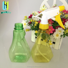 280ml high quality potable hand hold with trigger spray cap PET perfume plastic bottle