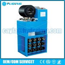 YQA80Q CE Computer Type 2'' 4SP hydraulic pressure hose crimping machine