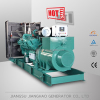 Large power 1000 KVA power generation manufacturer price 800KW diesel generator set