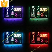 hot new products for 2015 led writing board panel led desktop led writing board table lighting led