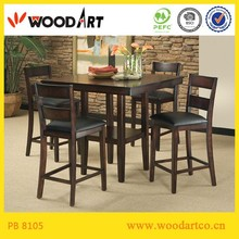 Modern design upholstered italian style dining room furniture