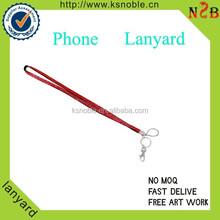 Promotional custom print tube mobile phone lanyard