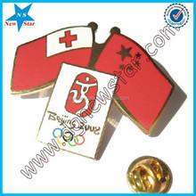 Epoxy coating lapel pin