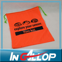 nylon colorful foldable tote bag for school students