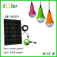 2015 new products portable 12w solar panel mini solar LED home lamp/solar home light/solar lighting kit