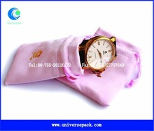 Various colour drawstring watch bags