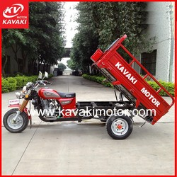 Best new design high quality 150cc 200cc cargo three wheel motorcycle with air cooled engine