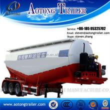 2015 hot sale Low density bulk cement semi truck trailer oil tank trailer
