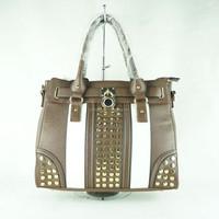 2015 new model fashion woman pure leather bulk handbags China manufacturer