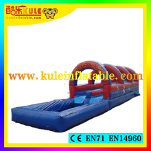 Kule toys inflatable water slides inflatable jumping air matress water slip and slide for sale