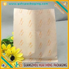 Atacado personalizado reciclar saco de papel manteiga