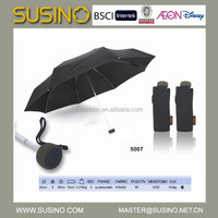 Fashion Susino 5 Fold Pongee Umbrella