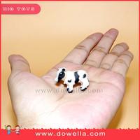 Cheap custion plastic mini farm animal ,surprise capsule mini farm animal