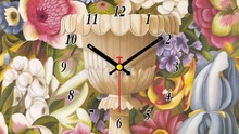 Customized unique gift antique quartz desk clock