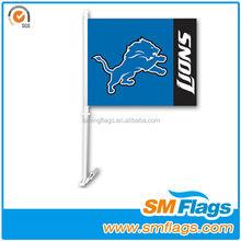 Plastic Personalized New Car Window Flag Poles,plastic flag poles