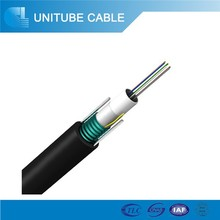 Aerial Duct Armored Cable Single Mode GYXTW Metallic Strength Member 12 Core Fiber Optic Cable