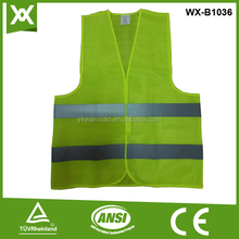 yiwu simple designed cheap price high visibility reflective safety vest