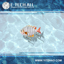 e-tech all saltwater jointed fishing lures exclusive design export fishing lure