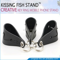 Kissing fish mobile stand holder for 4-6inch mobile phones
