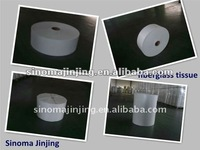 Fiberglass Pipe Wrapping Mat used for pipe-coated steel pipe buried for anti-corrosion, widely used in petroleum,natural gas