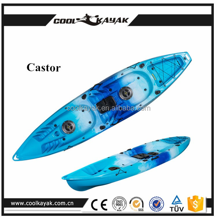Cool kayak brand double ocean kayak fishing boat for sale for Fishing kayak brands