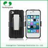 2 in 1 Kickstand heavy duty stand case with Support clip TPU+PC shockproof smartphone back case cover for iphone 6 5 4