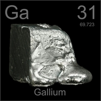 Solid or liquid shape gallium metaL, Preperation for Gallium Arsenide(GaAs)