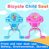 Child seat for bicycle safety comfortable bicycle baby seat