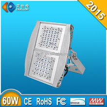 aluminum warm white 60w led floodlight