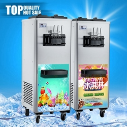 Professional factory service rainbow cleaning system icecream maker fruit