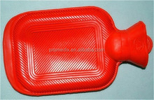 rubber colorful hot water bottle