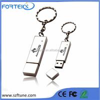 China Supplier Metal USB Flash Drive With Keyring