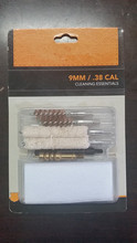 9mm / .38 cal Pistol Cleaning Essential Kit with Blister Package