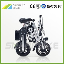 Factory price low cost 12 inch fast foldable adult e-vehicle with battery