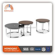 CT-37A CT-37B-1 modern coffee table wood coffee table glass coffee table