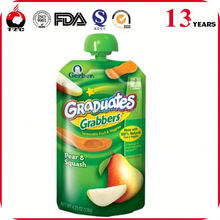 Manufacturer good barrier veggies mixed fruit baby juice food pouc