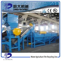 Waste Plastic Film Recycling And Washing Machine